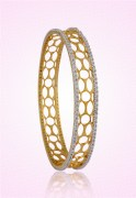 Clarity Gold Gold Bangles And Bracelets