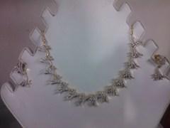 Sanmati Dust Diamond Necklace Set