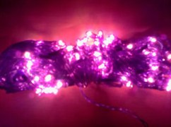 Decorative Light (Set of 4 Pcs & Get 1 Free) - Purple
