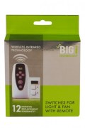 Big Infrared Remote Controlled Switches