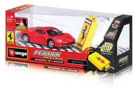 Bburago Ferrari Race with Key Racers