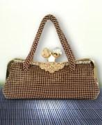 Copper Clutch/Sling Bag For Women