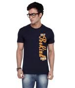 Inkovy-CREW-HALF-BE-KIND-NAVY-Graphic T-shirt