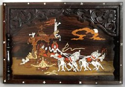 Sri Krishna Moorthy Fine Arts Geethopadesha Frame