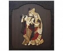 Sri Krishna Moorthy Fine Arts Radha Krishna Frame
