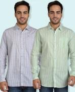 Live Loud Casual Cotton Shirt Combo