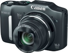 Canon PowerShot SX160 IS Point & Shoot Camera