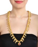 Alloy Golden Necklace