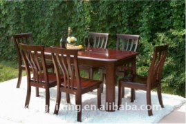 Full Dining Table with 6 Chairs
