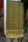 Chaubundi Chanderi Silk Saree
