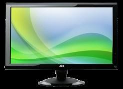 AOC 2436VH LCD Monitor