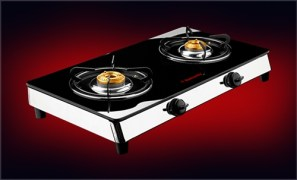 Butterfly Glass Top Gas Stove