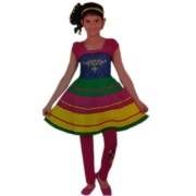 Humpty Dumpty Frock With Leggings 171