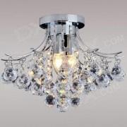 Indoor 3-light Luxury Crystal Chandelier