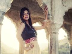 Manjari Saree Gown