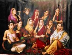 Ladies Canvas Painting