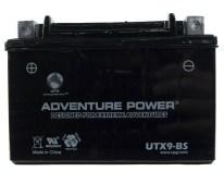 UPG Adventure Power Sport Sealed UTX9-BS AGM Battery