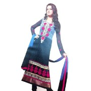 Butterfly 3 Anarkali Suit Dress Material
