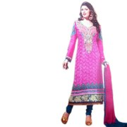 Butterfly 4 Anarkali Suit Dress Material