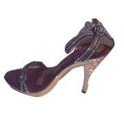Shoe Shoppe Stone Work Heels