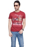 Levi's Red T Shirts X Large Size