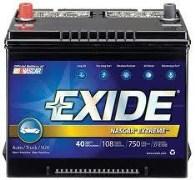 Exide Nascar Extreme 12XT5LB Battery