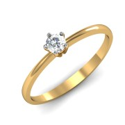 Mani Jewel RL-04068 Prong 5pts Solitaire Ring