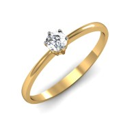 Mani Jewel RL-04066 Prong 5pts Solitaire Ring