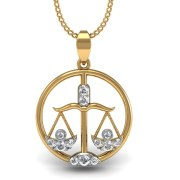 Mani Jewel PD-00765 Libra Zodiac Sign Pendant