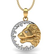 Mani Jewel PD-00769 Leo Zodiac Sign Pendant