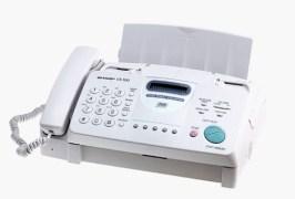 Sharp UX300 Plain Paper Fax Machine