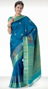 Kanchipuram Handwoven Silk Saree
