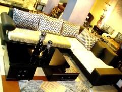 Squar Feet Stell Sofa Set