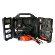 Black&Decker KR504RE-K12 Impact drill 10mm 500w with tool kit