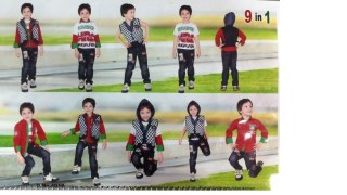 Kids Planet 9 in 1 Top with Legging