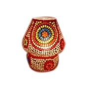 Laxmi Stationeries 7 Mosaic Table Lamp