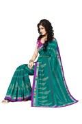 Ashika-2274-Raw Silk Rama Green Saree