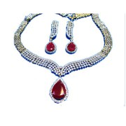 Poddar Jewels A.D Necklace Set-2