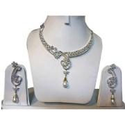 Poddar Jewels A.D Necklace Set-5