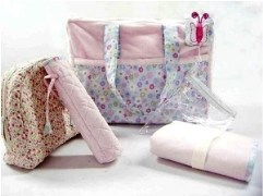 Little Dreams Baby Quilted Wrapper Set