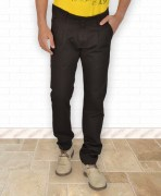 Arsole Black Chinos For Men