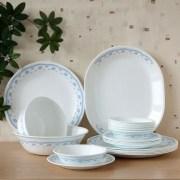 Corelle Morning Blue Dinner Set