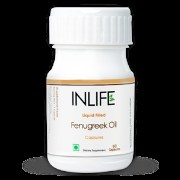 INLIFE Fenugreek Oil (60 Veg. Caps)
