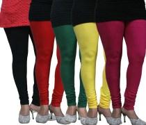 FnMe-Fnmelgcom139-Women's Leggings (Pack of 5)