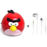 Vizio Combo Of Angry Bird Mp3 Player & Earphone