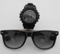 YS Sports Watch with Cool Sunglasses