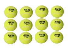 AVM top tennis balls pack of 12