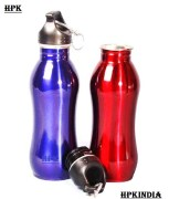 Hpk A Grade Red And Blue Aluminium Sport Sipper Bottles Set Of 2 -HPK00B53