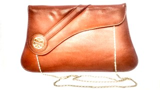 Michelle Formal Collection Clutch / Sling Bag -Brown