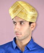 Mysore Turban Golden